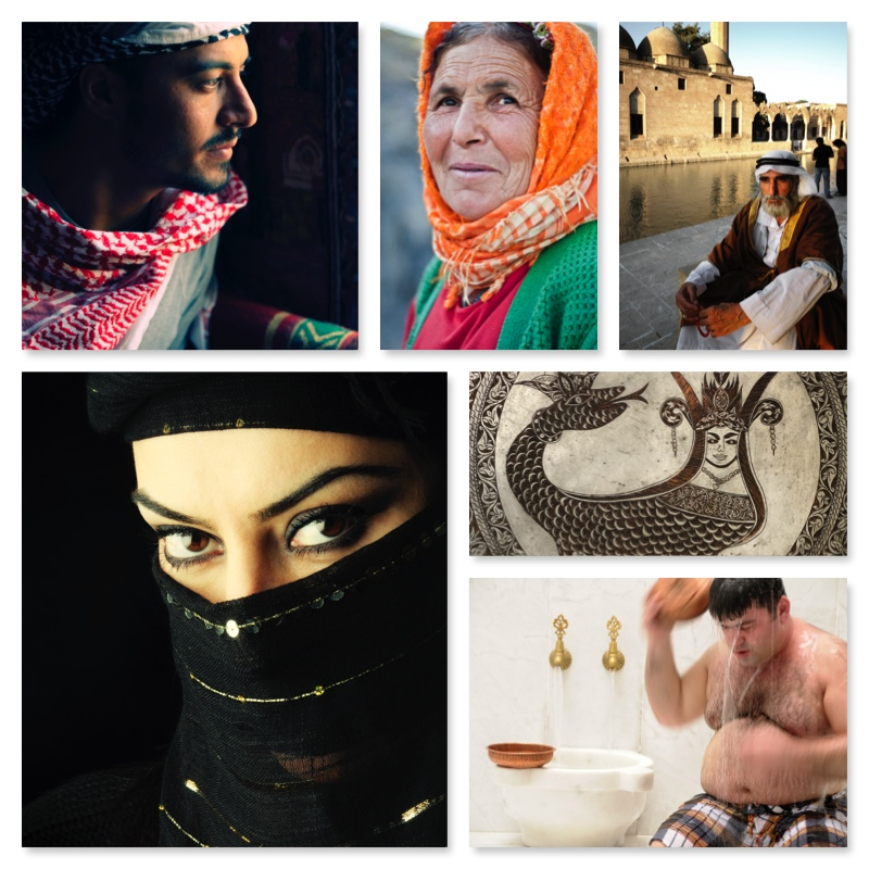 Images captured by Tunart in Middle Eastern countries.